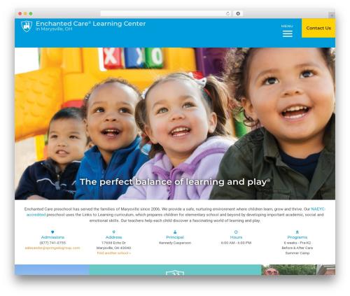 Template WordPress Nobel Learning - enchantedcare.com/preschools/columbus/marysville