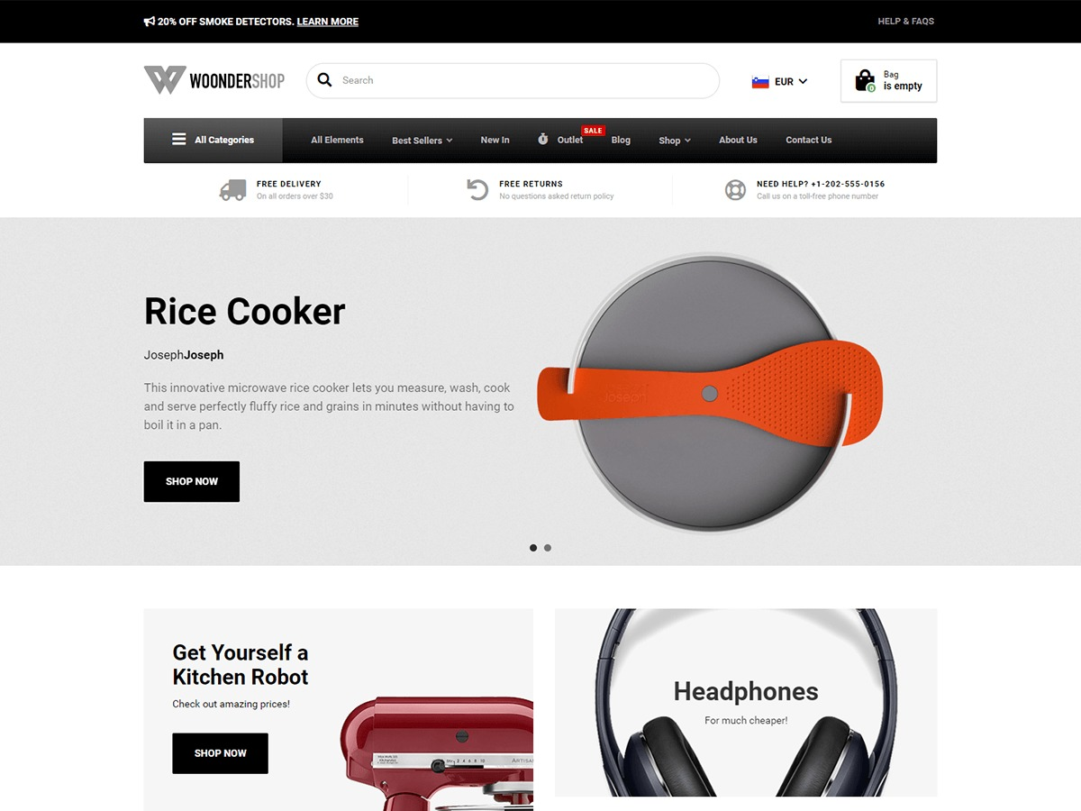 WoonderShop PT best WooCommerce theme