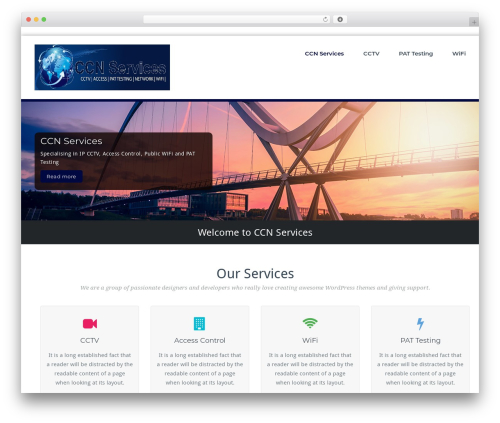 WordPress template BusiProf Pro - ccnservices.co.uk