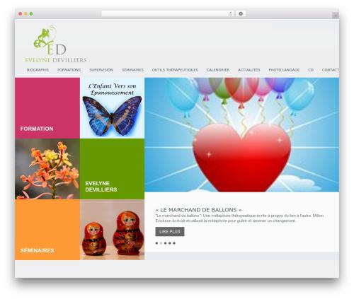 WordPress template Klasik - evedevilliers.com