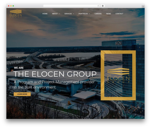 WordPress template TheBuilt - elocengroup.com