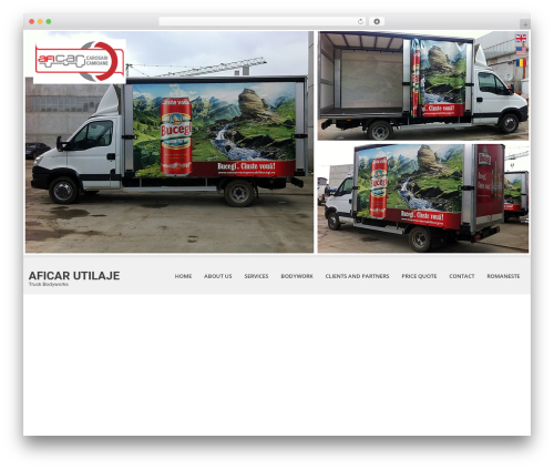 WordPress website template SKT White - en.carosaricamioane.ro