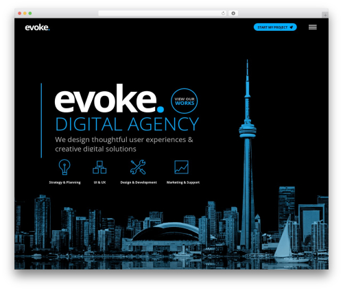 WP template The7 - evokedesigns.ca