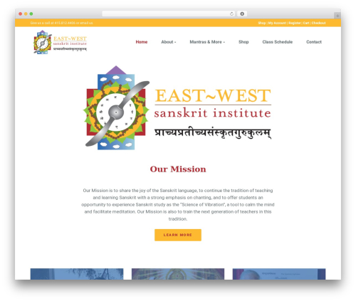 WP theme G5Plus Orion - eastwestsanskritinstitute.com