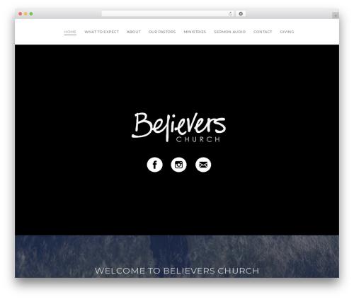 X theme WordPress - camdenbelieverschurch.com