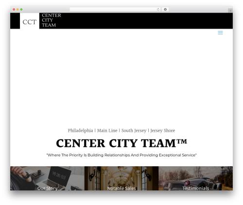 Betheme WordPress theme design - centercityteam.com
