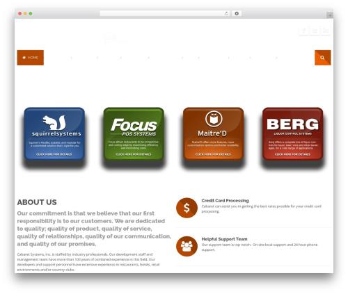 Effektive template WordPress - cabaretsystems.com