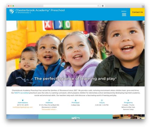 Nobel Learning top WordPress theme - chesterbrookacademy.com/preschools/chicago/shorewood