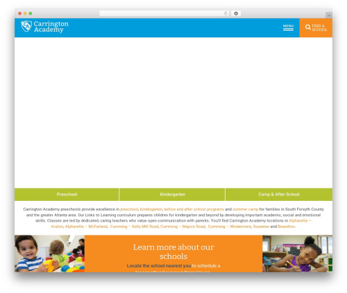 Nobel Learning WP theme - carringtonacademy.com