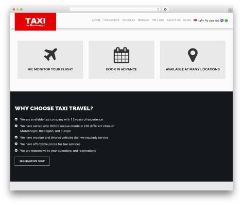 RentIt WP theme - taxi-travel.me
