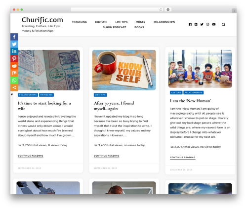 Free WordPress BlossomThemes Email Newsletter plugin - churific.com