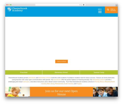 WordPress website template Nobel Learning - chesterbrookacademy.com/elementary/va/sterling