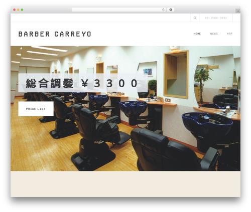 Belise Lite template WordPress free - carreyo.jp