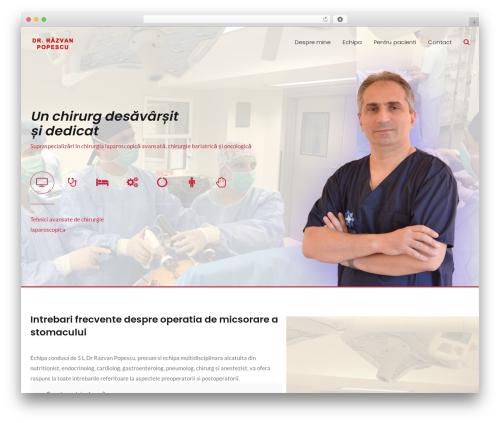 Best WordPress template MedZone - chirurgie-constanta.ro