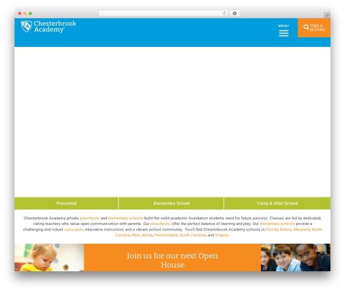 Nobel Learning template WordPress - chesterbrookacademy.com/preschools/chicago/sugar-grove
