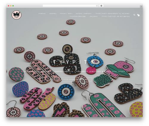 ShopIsle PRO WordPress shop theme - tyypit.net