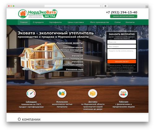 _tk premium WordPress theme - nordecovata.ru