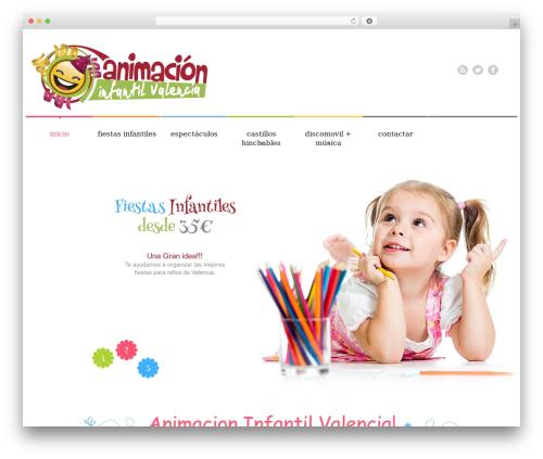 WordPress template cherry - animacioninfantilvalencia.es