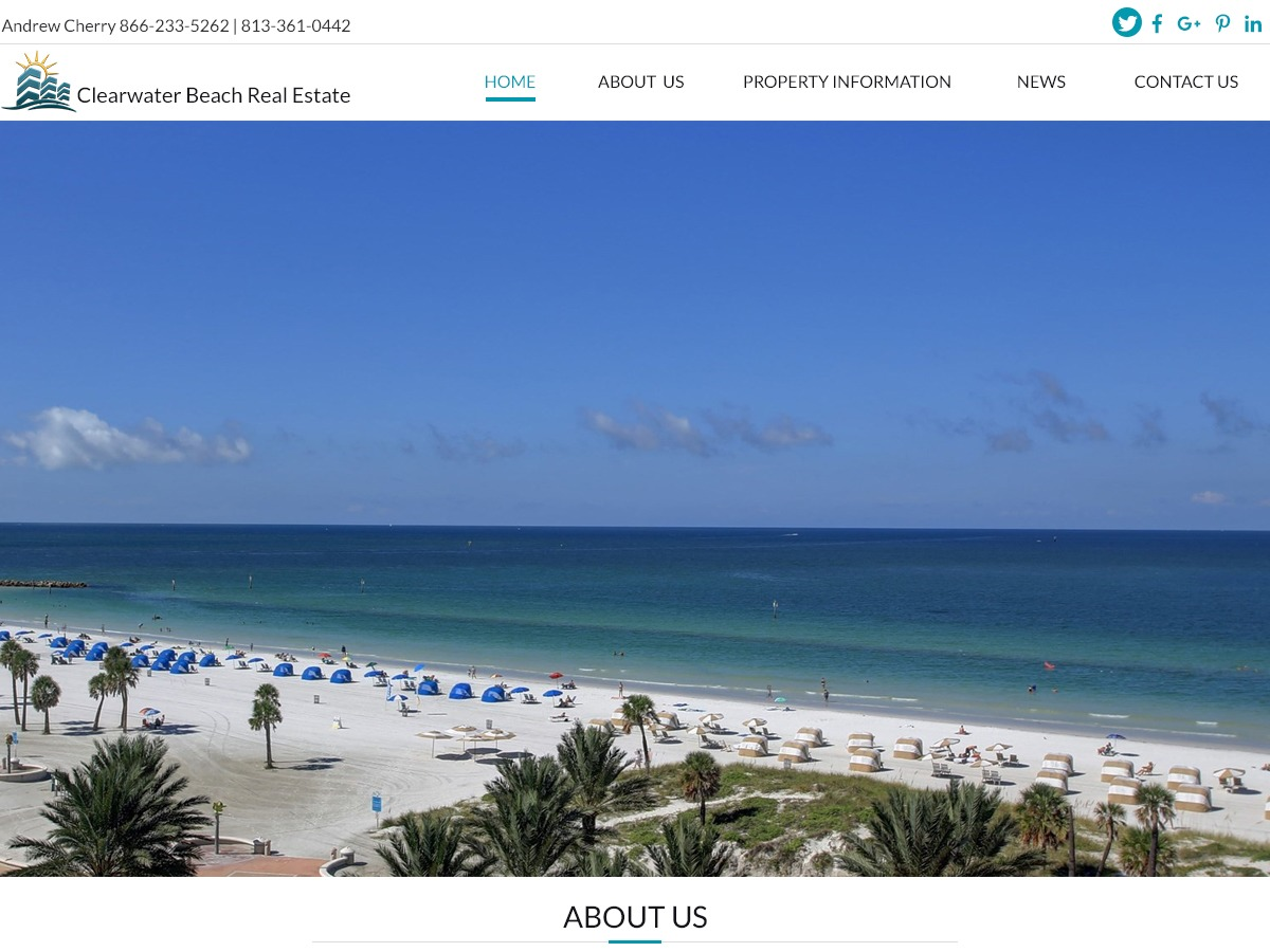 WordPress theme clearwaterbeachrealestate.us