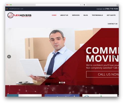 WordPress theme Moveit - flexmovers.com