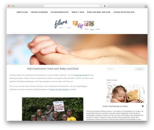 Activello free website theme - filura.de
