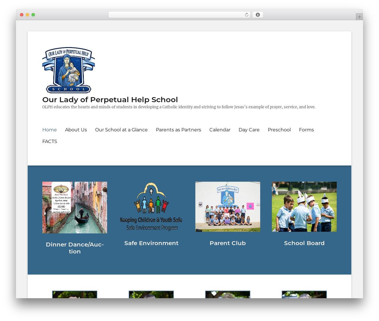 Clean Education Pro theme WordPress - olphschool.net