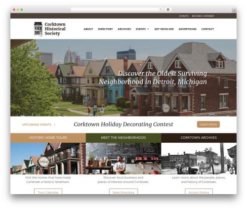 Divi WordPress theme - historiccorktown.org