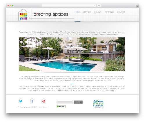 Method theme WordPress - creatingspaces.co.za
