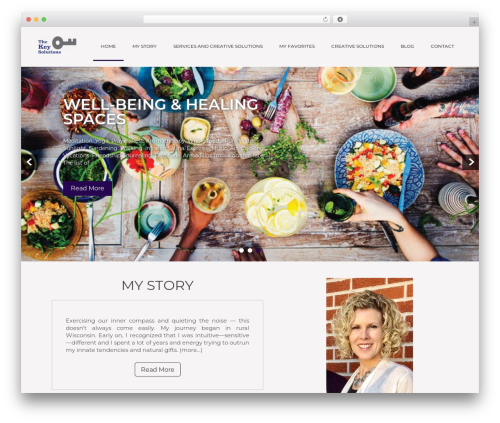Showcase Lite theme WordPress free - thekey.solutions