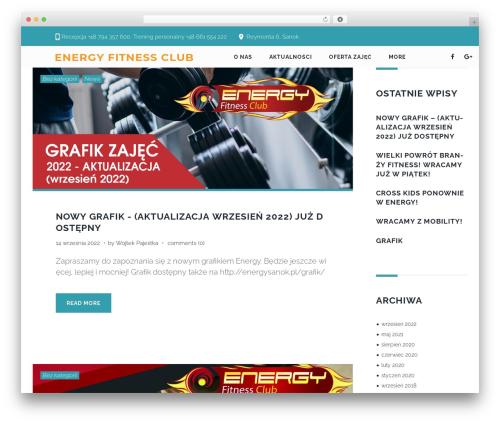 Zoomba WordPress template - energysanok.pl