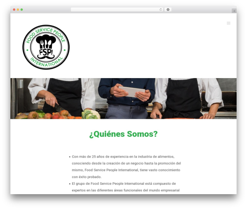 Best WordPress theme Avada - foodservicepi.com
