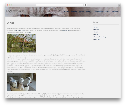 Institution WordPress template - legatowka.pl