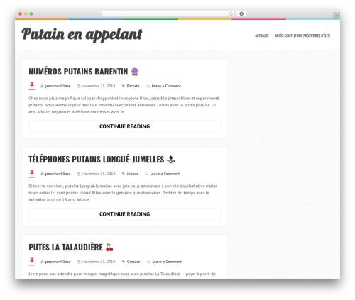 LiveBlog WordPress theme - grossmanndesign.info