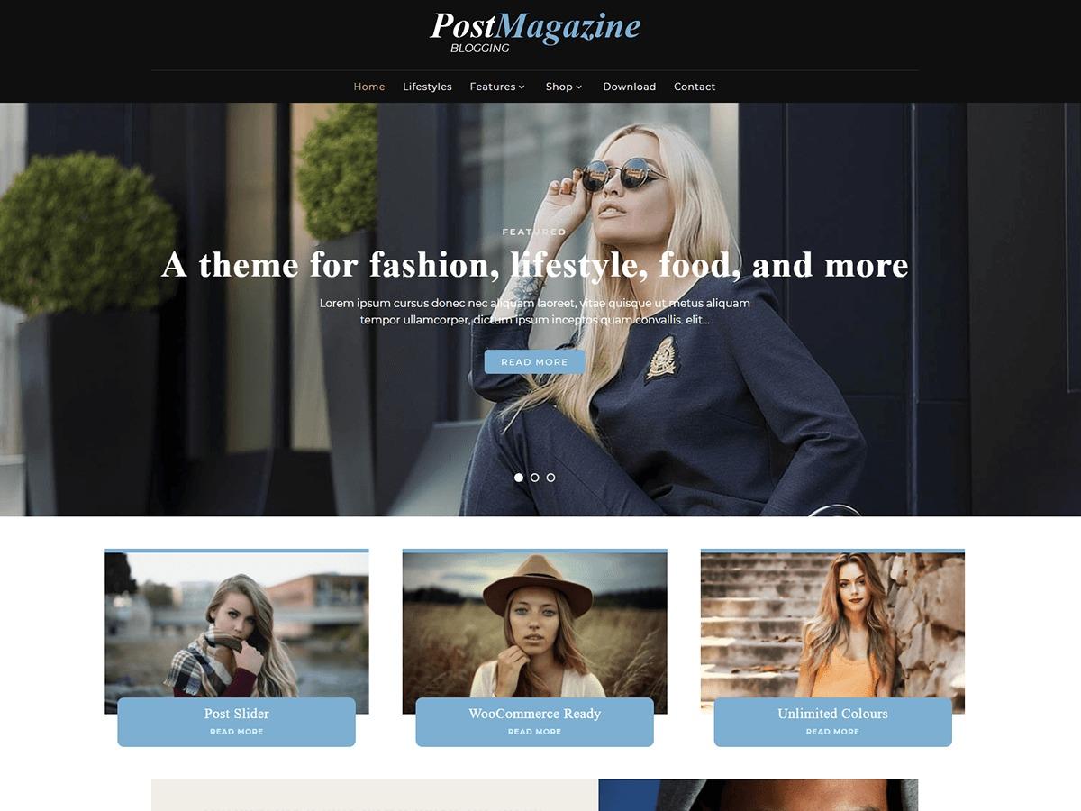 PostMagazine newspaper WordPress theme