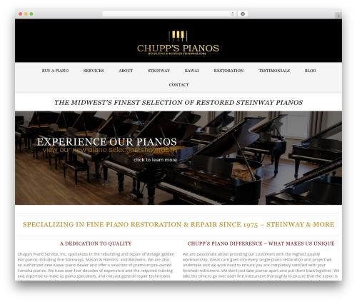 Template WordPress LEGENDA - chuppspianos.com