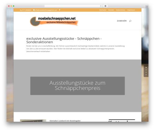 Divi top WordPress theme - moebelschnaeppchen.net