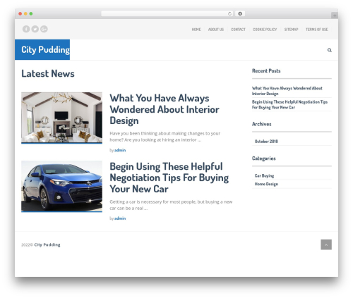 SocialNow by MyThemeShop WordPress news template - citypudding.com