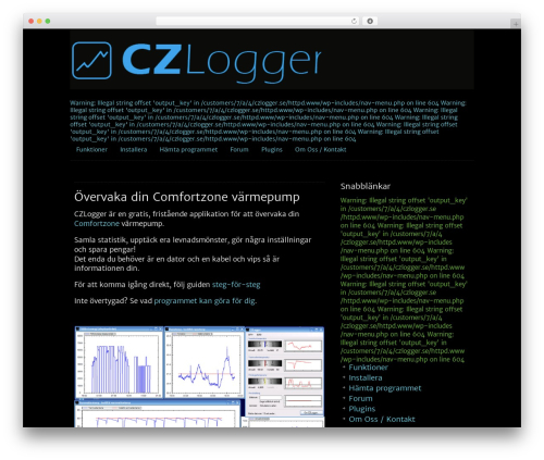 Template WordPress Clean Black - czlogger.se
