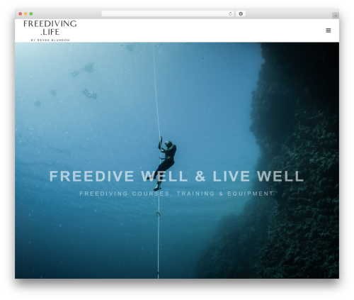 WordPress cff-masonry plugin - freediving.life