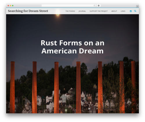 Theme WordPress LongformPRO - searchingfordreamstreet.org