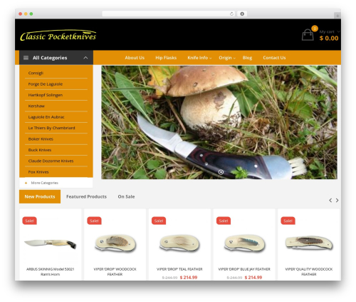WP template Clickbuy - classicpocketknives.com.au