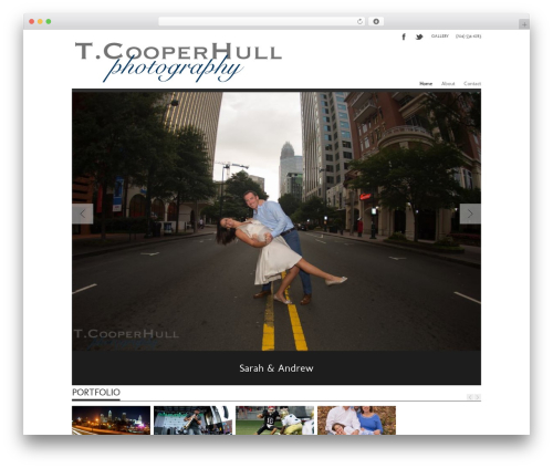 Albedo WordPress theme - tcooperhullphotography.com
