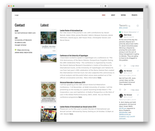 Best WordPress theme Subway - torkrever.com