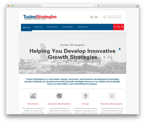 Brandon WordPress template - tuckerstrategies.com