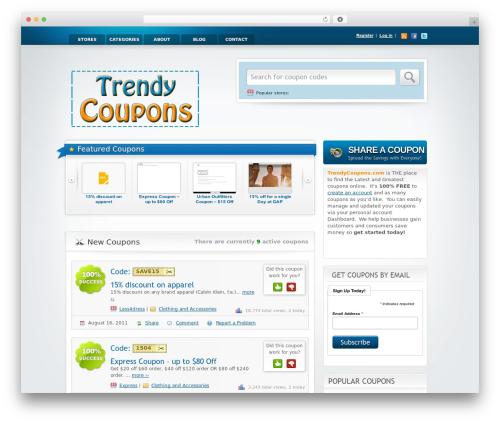 Free WordPress Favicon Generator plugin - trendycoupons.com