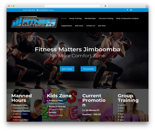 WordPress wp-spamfree plugin - fitnessmattersjimboomba.com.au