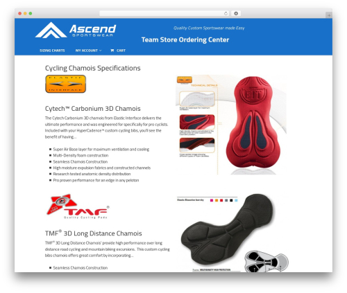 Dynamik-Gen theme WordPress - teamstore.ascendsportswear.com
