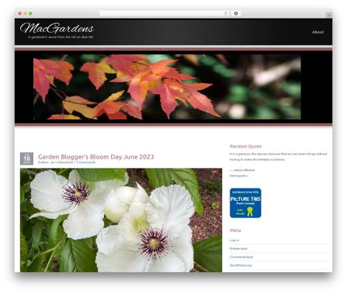 Encounters top WordPress theme - macgardens.org