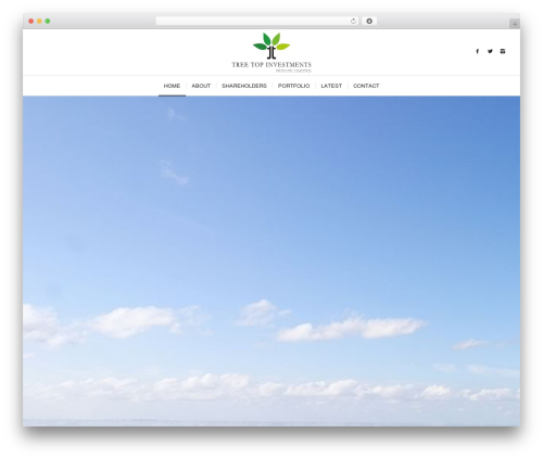 Enfold company WordPress theme - treetopmaldives.com