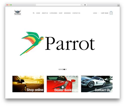 Flatsome automotive WordPress theme - technikautomotive.com.au